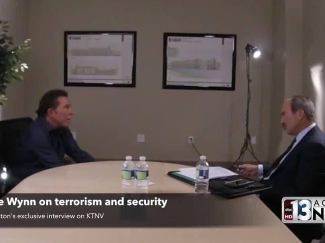 Full segment of Steve Wynn talking security with Jon Ralston