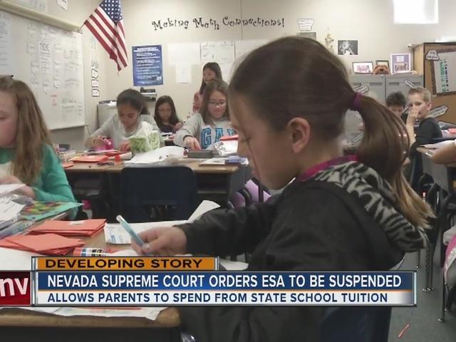 RALSTON: Nevada Supreme Court orders school choice program suspended