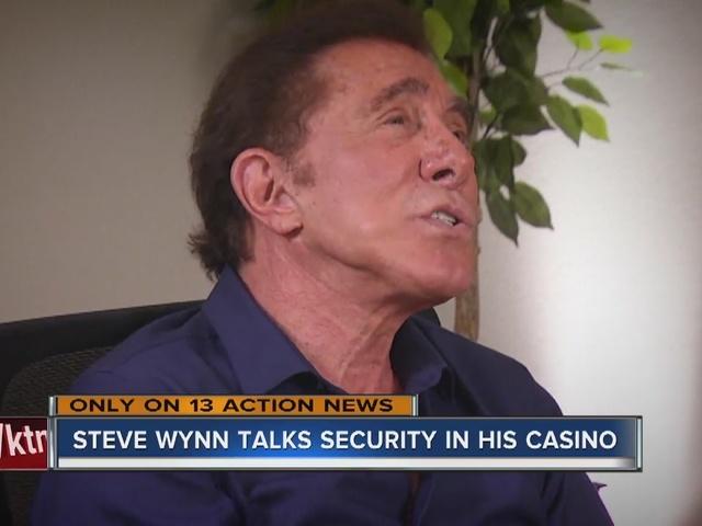 Steve Wynn talks about 'extraordinary' security measures with Jon ...