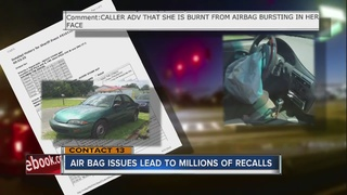 CONTACT 13: Air bag issues lead to auto recalls