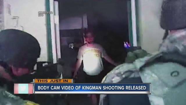 Body cam footage of Kingman OIS released