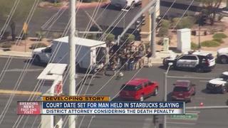 Court date set for man held in Starbucks slaying