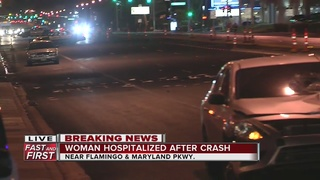 Pedestrian seriously hurt after hit by car