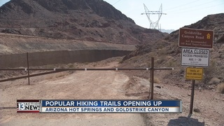 Popular Lake Mead trails reopening after summer