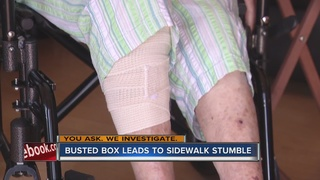 YOU ASK: Woman injured by CenturyLink box