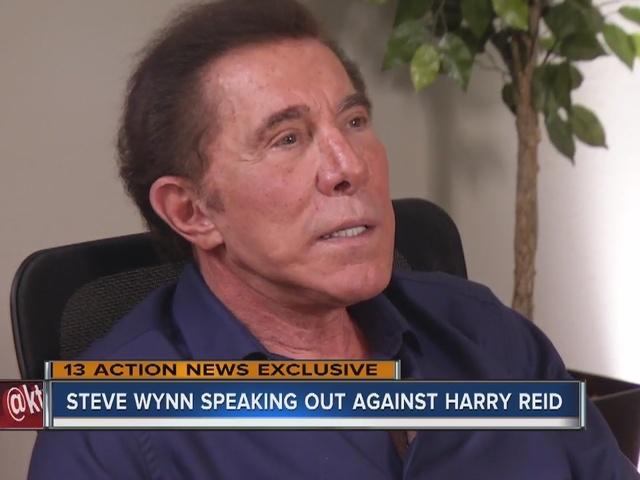 RALSTON: Steve Wynn speaks out against Harry Reid