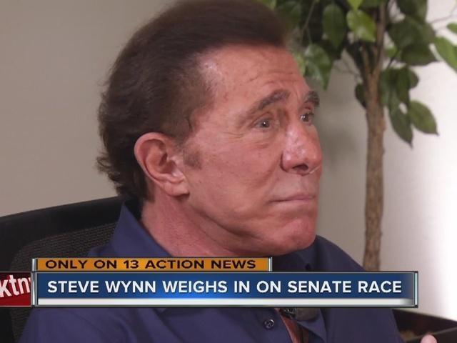 RALSTON: Steve Wynn weighs in on Nevada Senate race