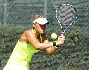Three teenagers move into singles semifinals