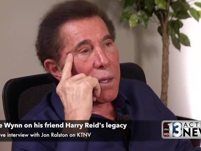 Steve Wynn on his friend Harry Reid's legacy