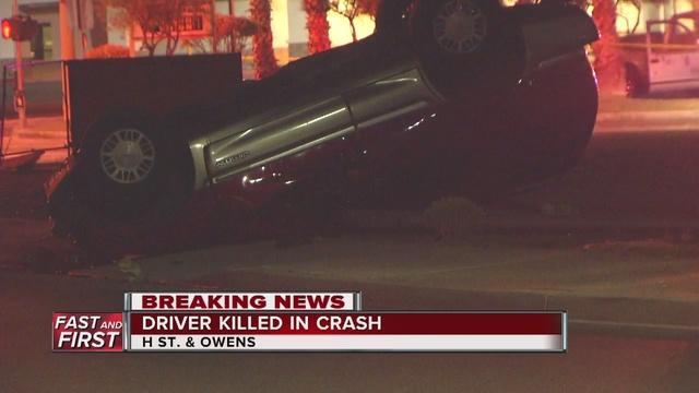 Driver killed in overnight crash