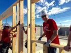Volunteers build new home for Las Vegas resident