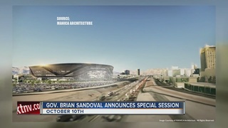 Sandoval sets Oct. 10 date for stadium session