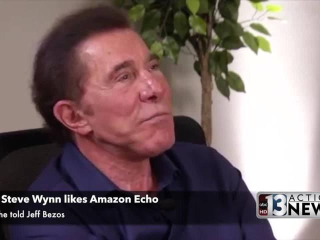 An Amazon Echo Fan - Why Steve Wynn likes Alexa