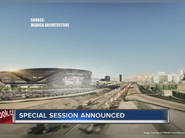 RALSTON: Special session for stadium proposal announced