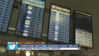 Flights from Las Vegas to Florida canceled