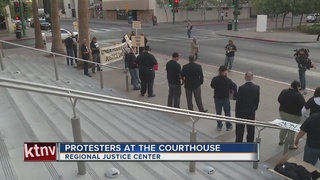 Police accountability protest held downtown