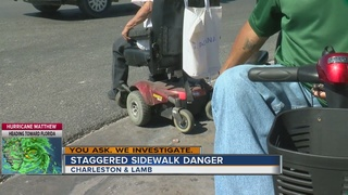 YOU ASK: Sidewalks unsafe for disabled people