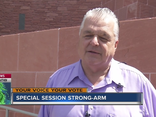 RALSTON: Why the special session agenda changed