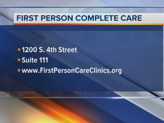 First Person Care Clinic helping families