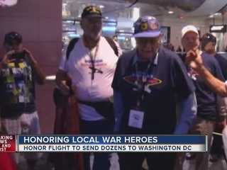 Honor Flight sends local veterans to monuments