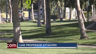 UNLV professor attacked now in fair condition
