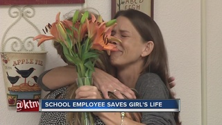 CCSD employee saves student's life
