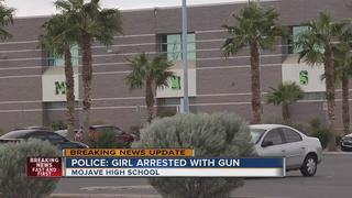 Teen girl brings gun to local high school