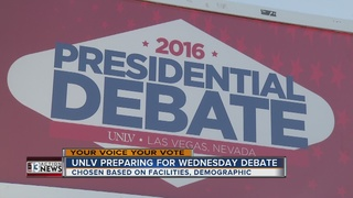 UNLV prepares for final presidential debate