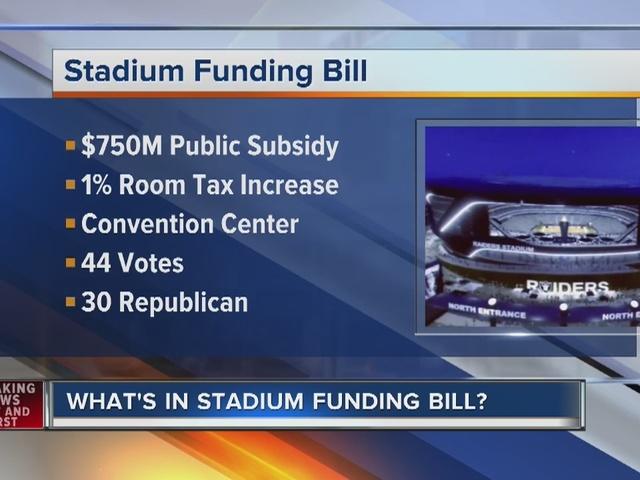 RALSTON: Jon talks stadium bill signing