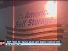Man find 40 dead cats inside storage unit