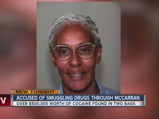Woman accused of smuggling drugs through airport