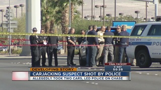 Suspect shot after NHP chase in Henderson dies