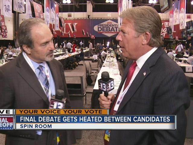 RALSTON: Final debate gets heated between Trump, Clinton