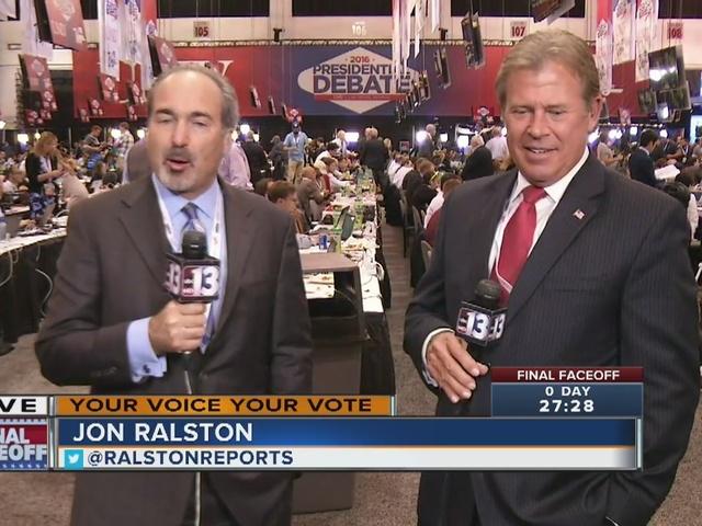 RALSTON: Gearing up for tonight's big debate