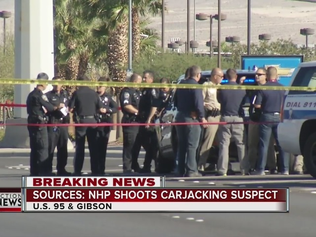 UPDATE: Suspect shot after NHP chase in Henderson