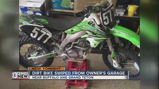 Dirt bike stolen from northwest Las Vegas garage