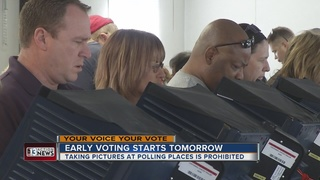 Early voting starts Saturday in Nevada