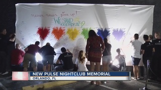 Gates open at Pulse nightclub for memorial mural