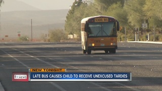 Las Vegas mother fed up with tardy school bus