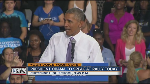 LIVE STREAM: Obama rallies for Clinton in Nevada