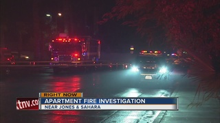 Apartment fire kills 1 dog, displaces 8 people