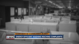 Energy efficient washing machine complaints