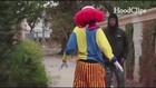 VIDEO: 'Creepy clown' pistol-whipped in Calif.
