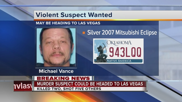 Oklahoma man wanted for violent crimes had hit list