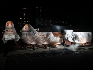 Burger King dresses up for Halloween