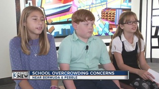 Overcrowding concerns at Beatty Elementary