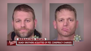 Jury acquits leaders in Oregon standoff trial