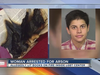 Woman says Oprah told her to set fire to center