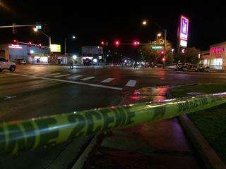 1 dead, 1 hurt after hit by car on sidewalk