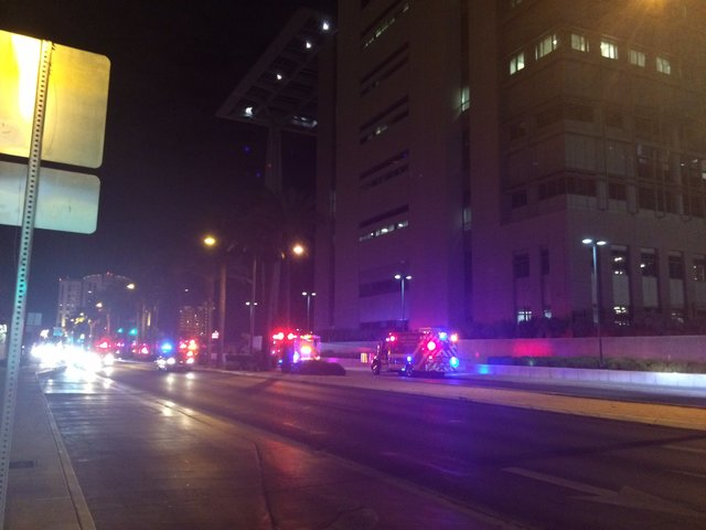 Firefighters Respond To Federal Courthouse After Light